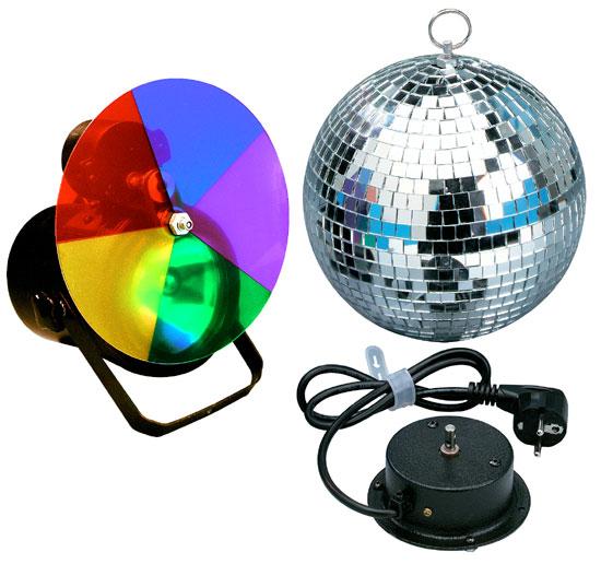 20w halogen party magic discokugel discolicht 22cm ebay. Black Bedroom Furniture Sets. Home Design Ideas