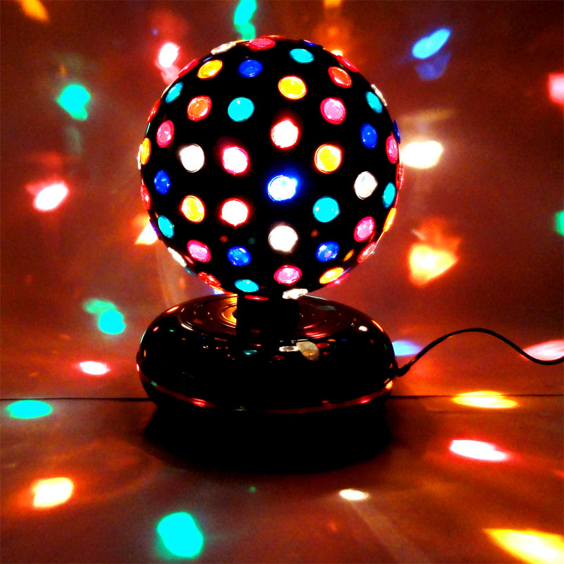 29 cm party magic discokugel discolicht 20 w halogen ebay. Black Bedroom Furniture Sets. Home Design Ideas