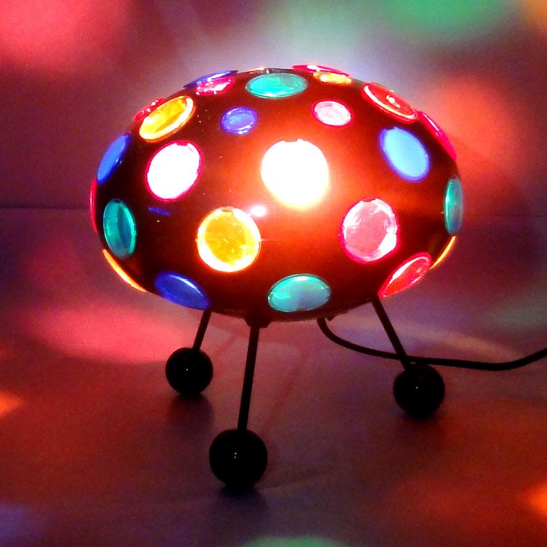 29 cm party magic discokugel discolicht 20 w halogen ebay. Black Bedroom Furniture Sets. Home Design Ideas
