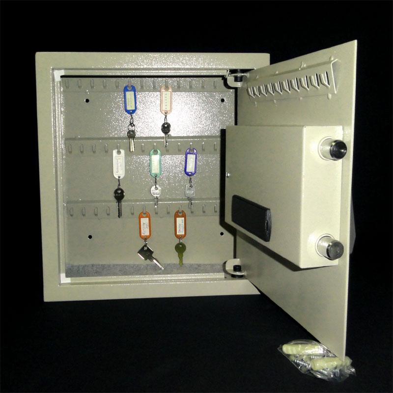 tresor safe m beltresor mit doppelbart schl ssel l anthrazit ebay. Black Bedroom Furniture Sets. Home Design Ideas